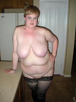 amature full-grown bbw brunette nude photos