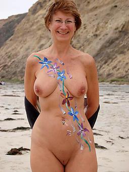 bungle mature lady nude beach photos