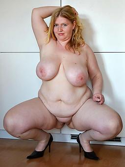 real chubby mature lady snapshot