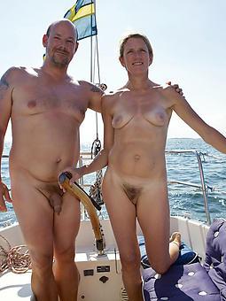 mature denude couples tease