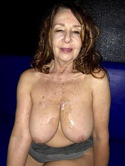 pretty of age milf cumshots nude photos