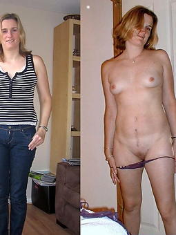 ladies dressed with the addition of undressed hot porn pics
