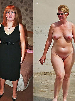 nude pictures be expeditious for ladies dressed and undressed