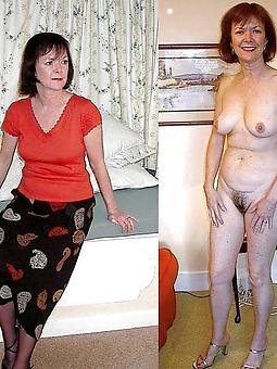 mature ladies dressed and empty stripping