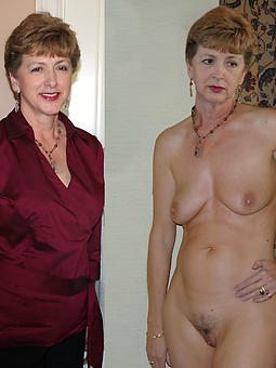 mature ladies dressed and undressed strip