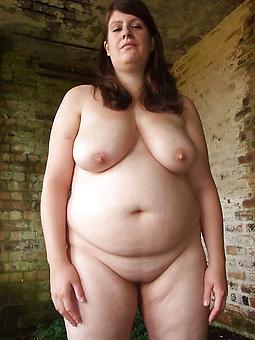 curvy fat sallow mature