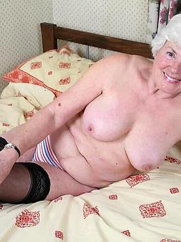 naked grannie video