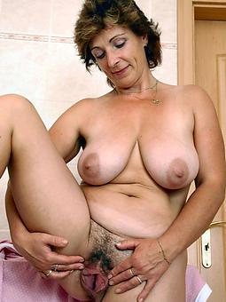 scrupulous hairy matured ladies nude photos