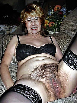 hairy mature ladies porno