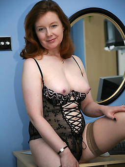mature ladies around lingerie stripping