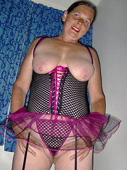 juggs of age lady surrounding undergarments