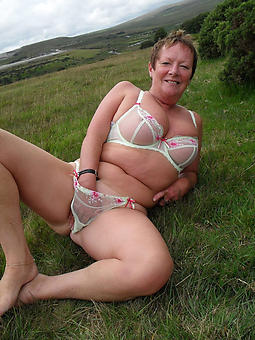 mature babes not far from lingerie and still down in the mouth
