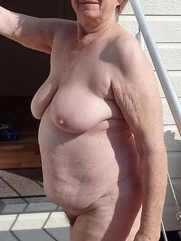 naked grown-up old ladies tease