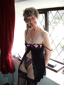 gorgeous old lady panties