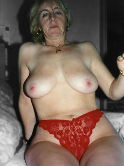 downcast matured women in bras with the addition of panties