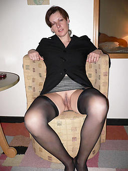 grown-up lady stockings stripping