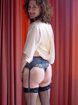 grown-up aristocracy in stockings together with suspenders seduction