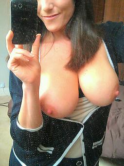 hot mature lady selfie tease