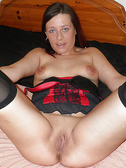 naked beautiful mature brunette stripping