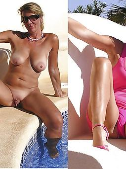 nice mom dressed undressed porn pictures
