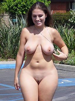 pretty grown up curvy women