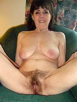 pretty mature hairy moms