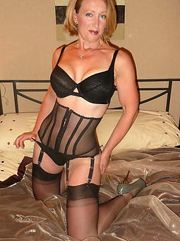 mature sexy lingerie porn