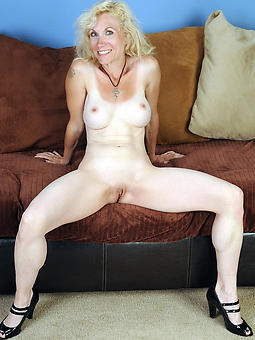 busty blonde mom