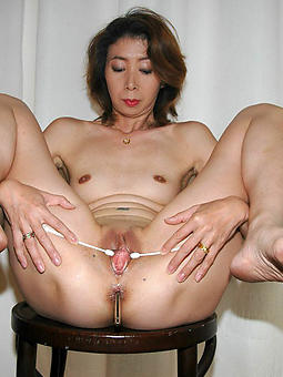 porn pictures be incumbent on sexy asian of age gentlefolk