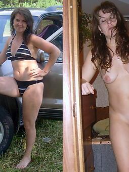 amature mature dam dressed vs undressed porn pics