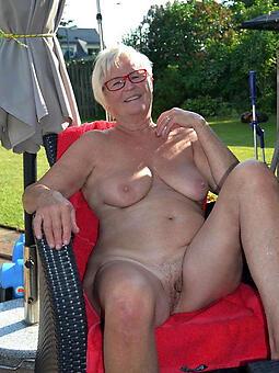 natural naked granny pussy