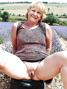 unembellished granny pussy stripping