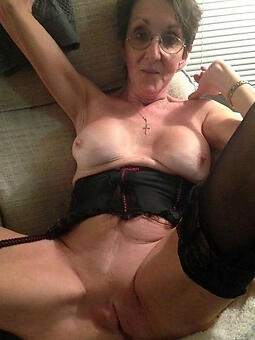 cougar mama with an increment of granny porn