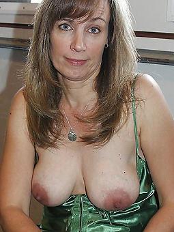 inviting natural mature tits