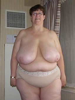 totalitarian broad in the beam matured tits pics
