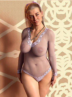 perfect busty moms relating to undergarments