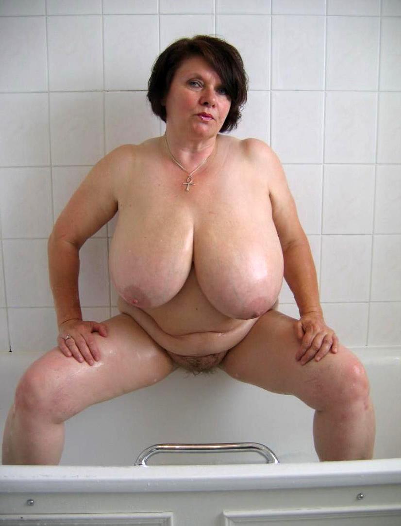perfect old ladies big jugs nude photo
